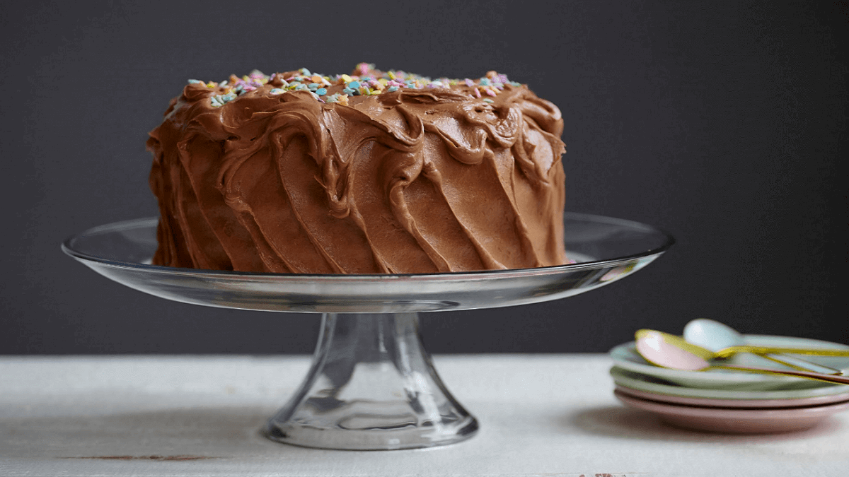 Homemade Cake, Cake, Chocolate Cake