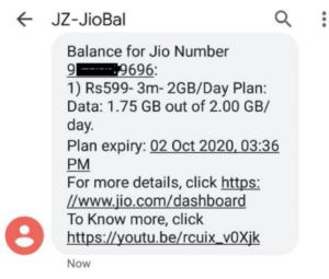 How To Check Reliance Jio Balance