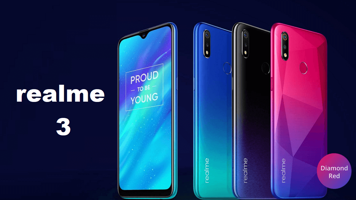 Realme 3 mobile phone Full Specifications camera features price india
