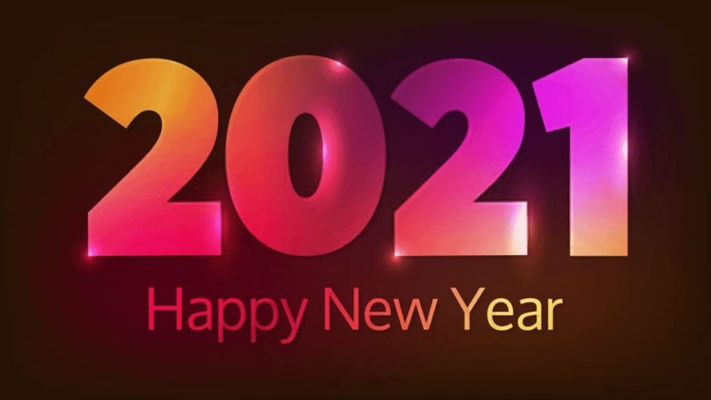 Happy New Year 2021 Wishes Images in English