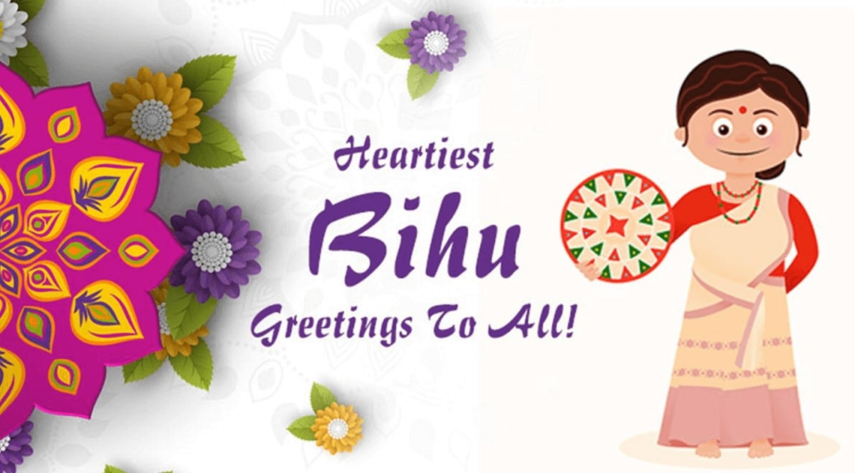 Happy Bihu 2021 Wishes Images in English