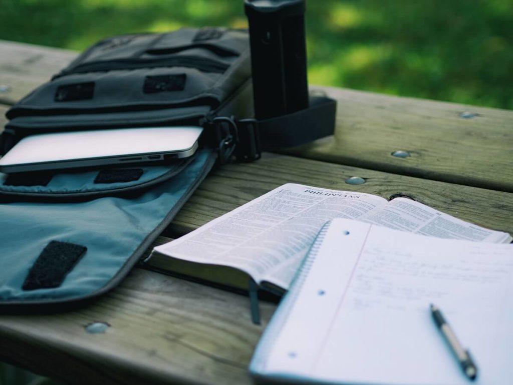 Make a list of topics to study