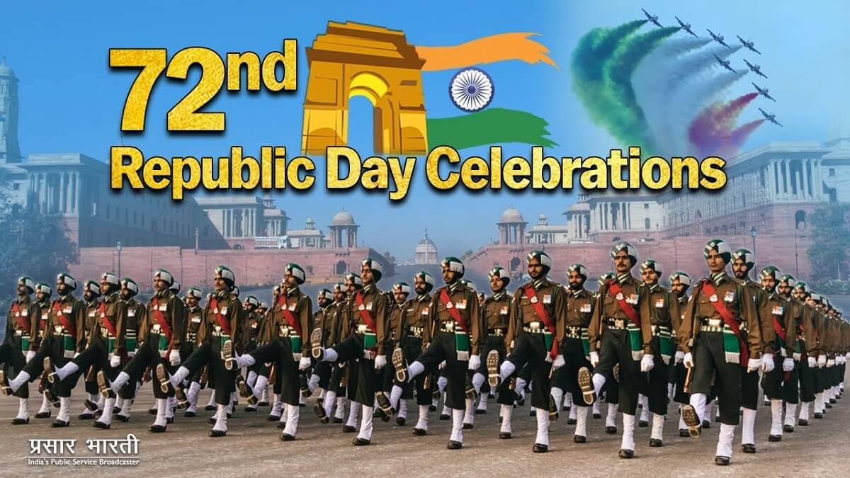 Republic Day 26 January 2021 Wishes, Quotes, Images, Status Greeting Cards for Whatsapp Instagram Twitter, Facebook to friends and family
