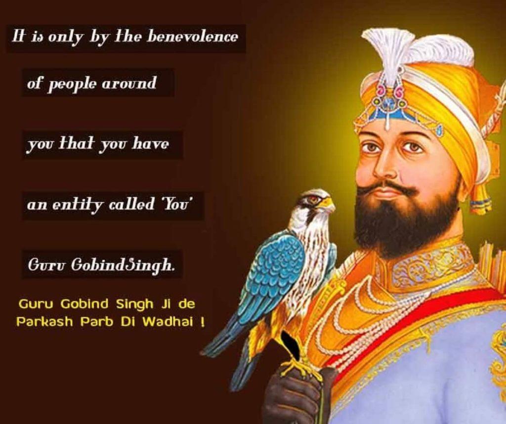 Happy Guru Gobind Singh Jayanti 2021 Wishes Greeting Card