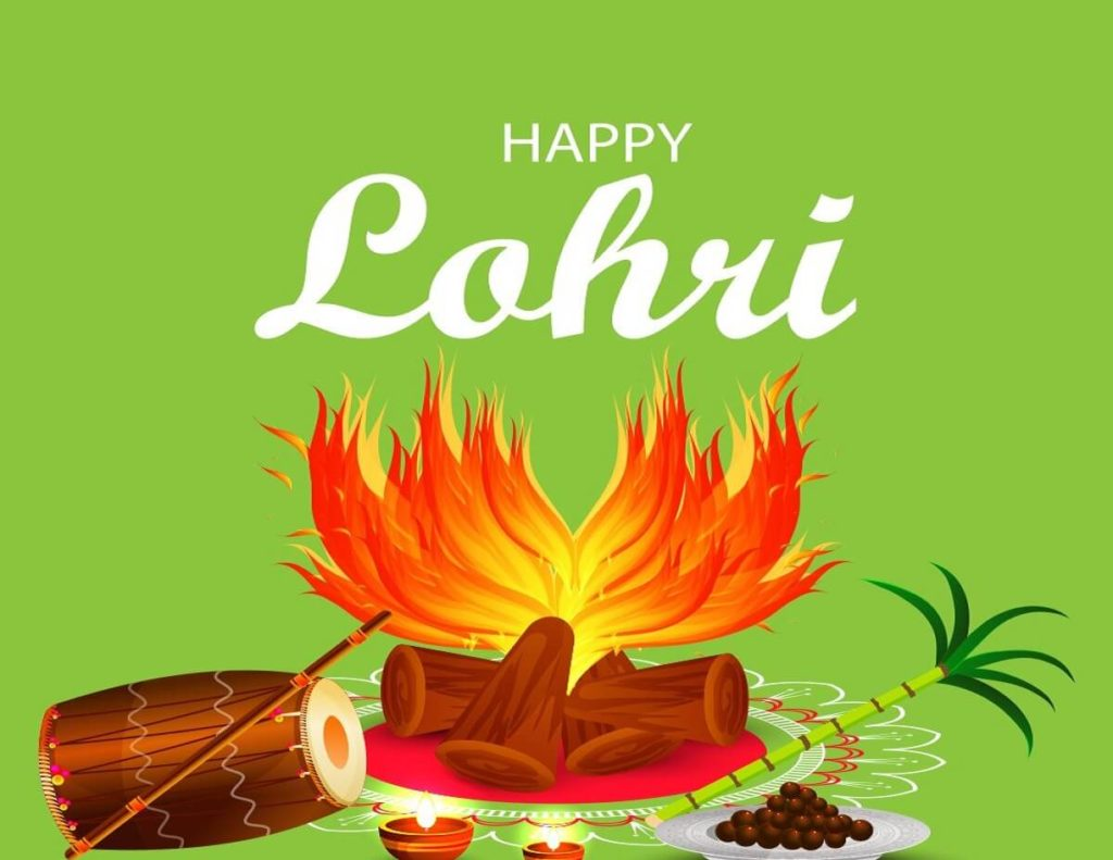 Happy Lohri 2021 Wishes Images in English