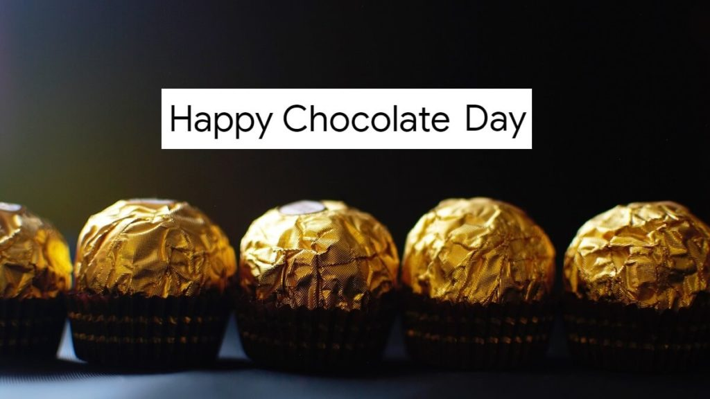 Happy Chocolate Day Images with Quotes in English