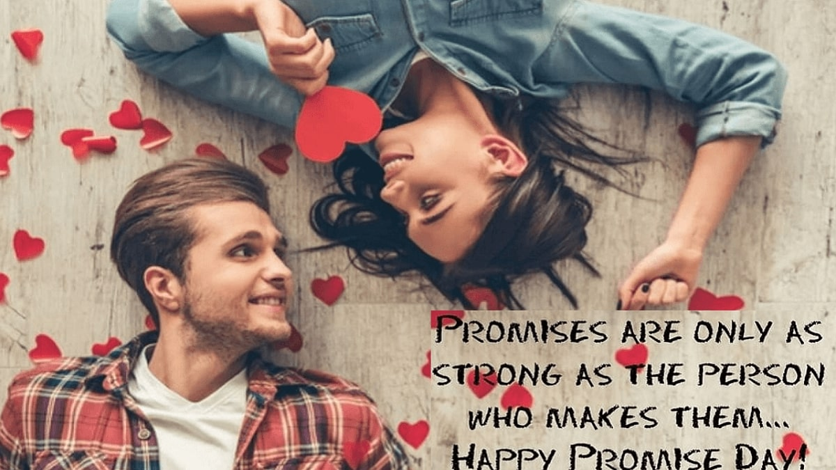 Happy Promise Day Wishes Images, quptes, status, greeting cards for Boyfriend, Girlfriend, Love, Crush, Husband, Wife, Friends, and Family