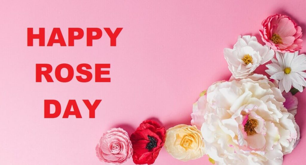 Happy Rose Day Wishes Images with Quotes in English
