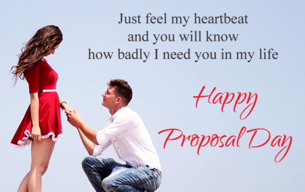 Happy propose Day Wishes Images with Quotes in English