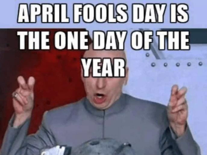 Happy April Fools' Day Meme