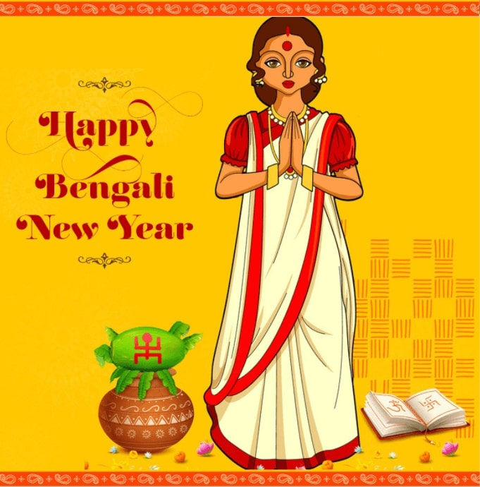 Happy Bengali New Year 2021 Wishes, Images with Quotes in English