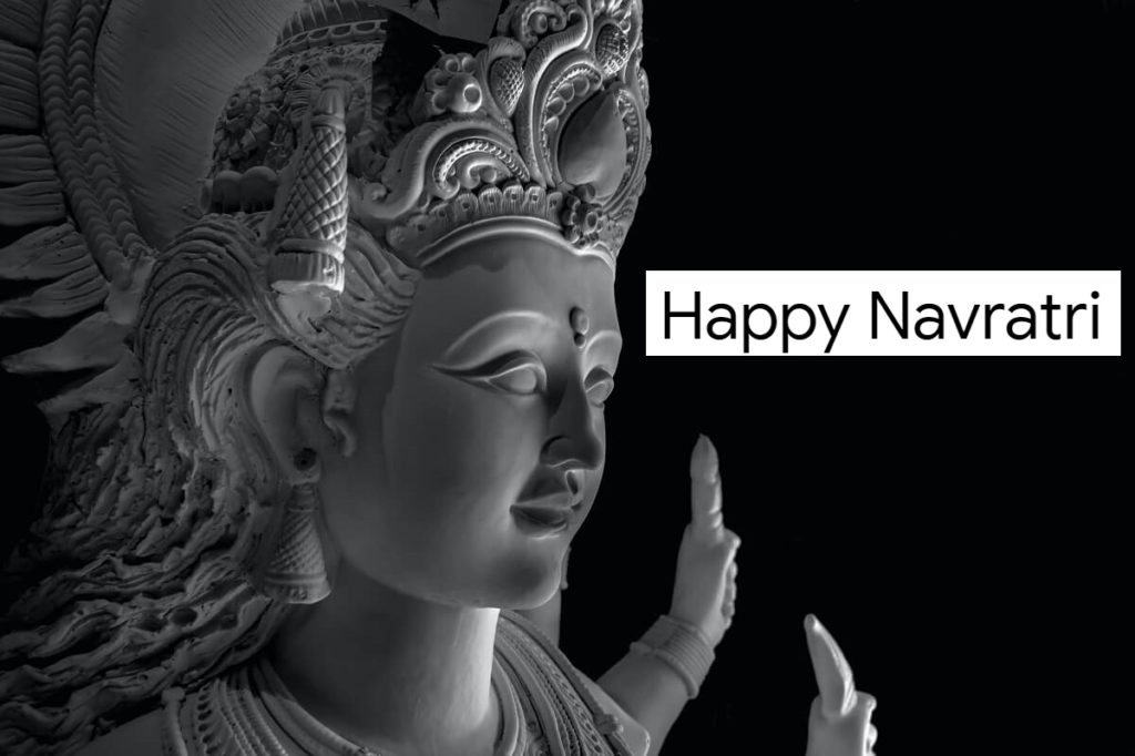 Happy Navratri Wishes, Images with Quotes in English