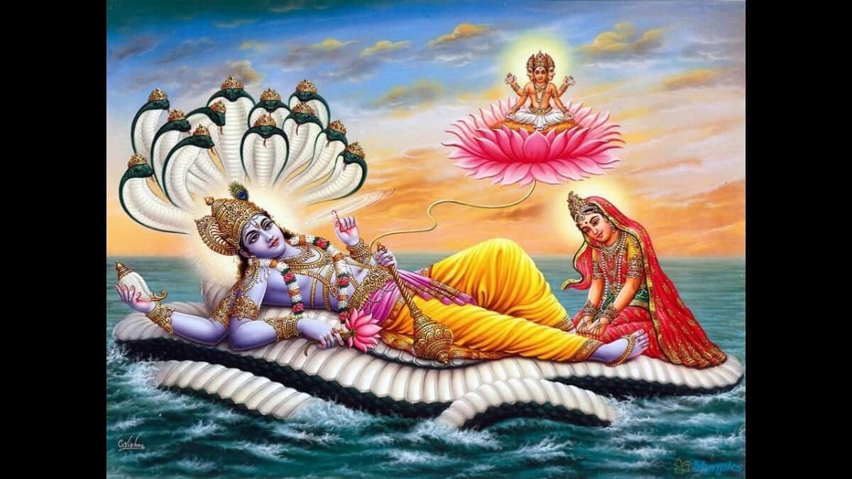 Shree Vishnu ji ki Aarti Lyrics in Hindi English