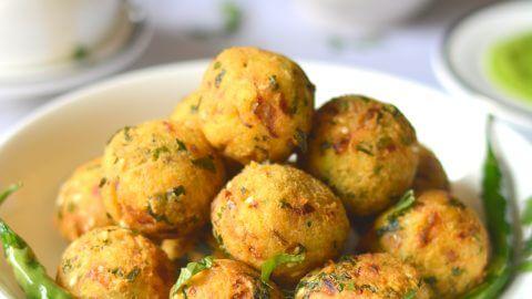 Khichdi Pakora Recipe