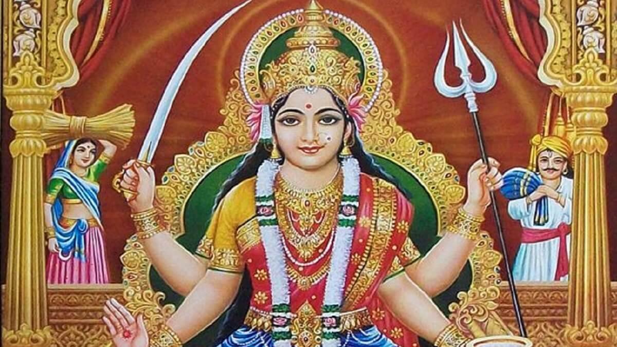 Santoshi Maa Ji Ki Aarti in Hindi English