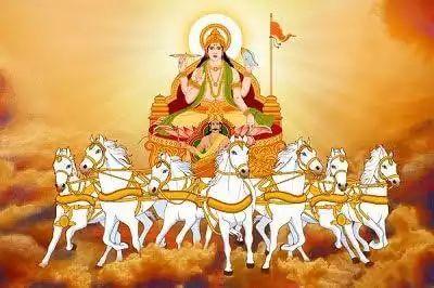 Surya Dev ji Ki Sawari