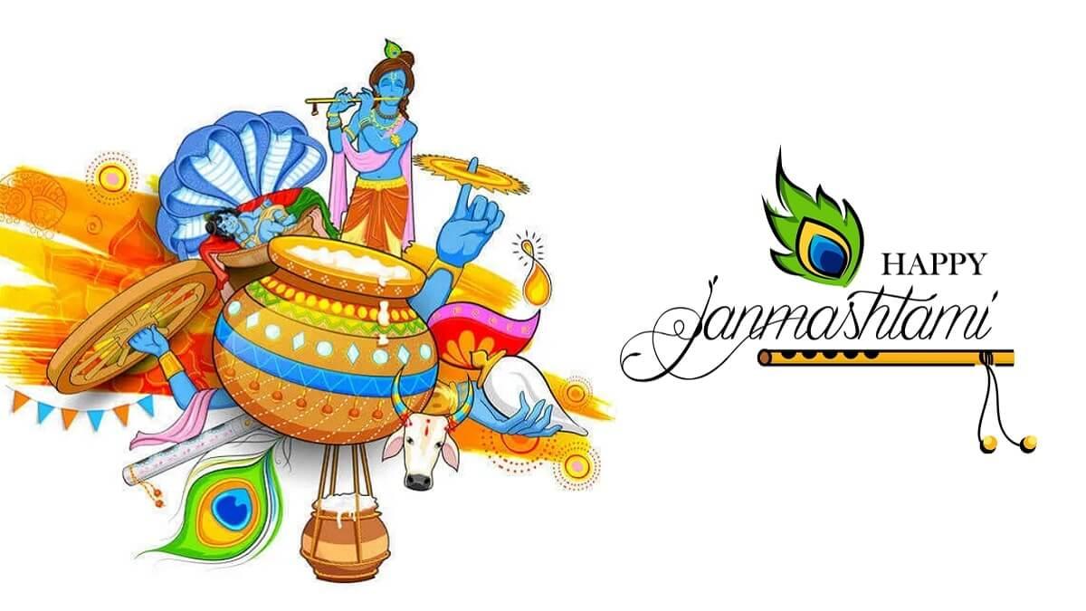 Happy Krishna Janmashtami 2021 Wishes Images, Quotes, Status, Messages