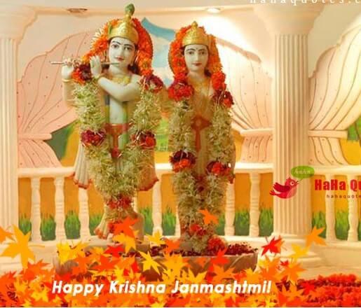 Happy Krishna Janmashtami 2021 Wishes Images Quotes Status Messages